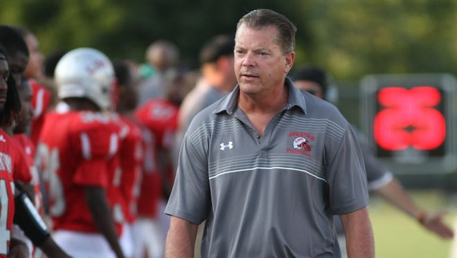 Mike Fell has left Lima Senior High School in Ohio to accept the job at Mesa Mountain View.