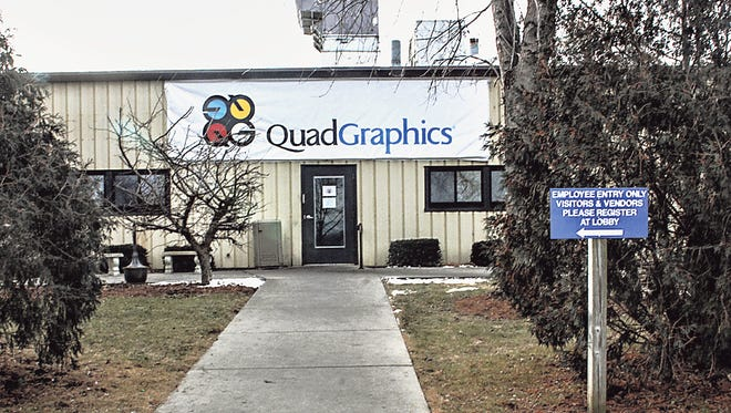 The building housing Quad Graphics is still unsold to a new company, although work on marketing the facility continues.