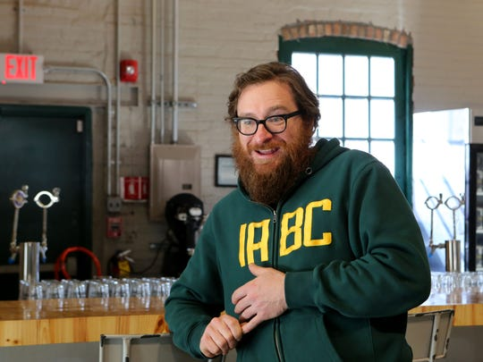 Industrial Arts Brewing Company founder Jeff O'Neil