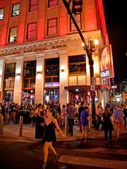 Ole Red is a five-story upscale honky tonk on the corner of Broadway and 3rd Avenue in downtown Nashville.
