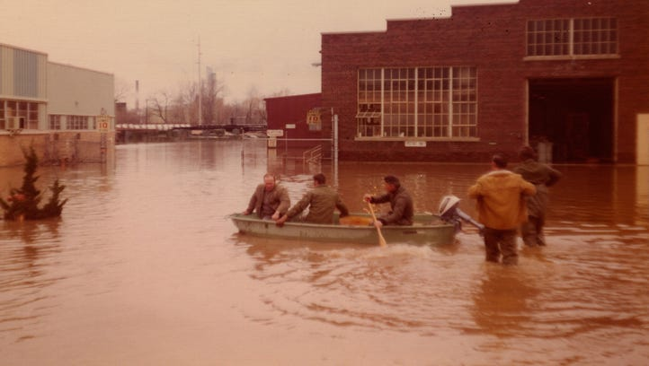 From the Archives: Remember the flood of 1975?