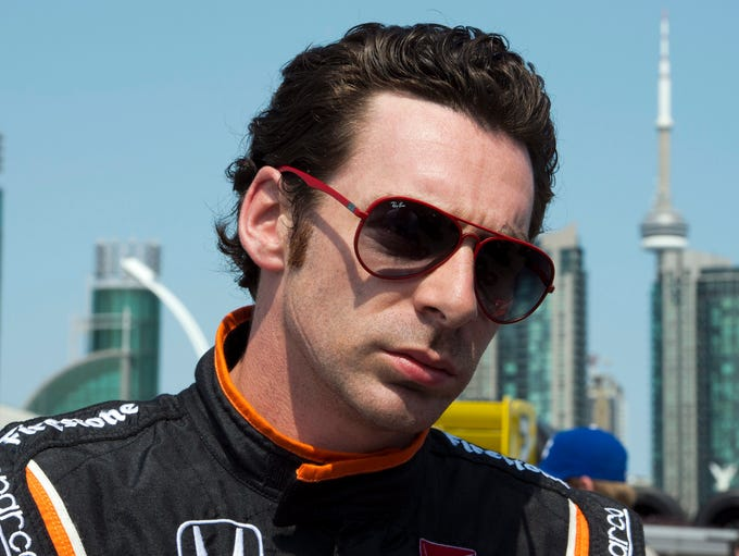 Simon Pagenaud, born May 18, 1984, in Poitiers, France,