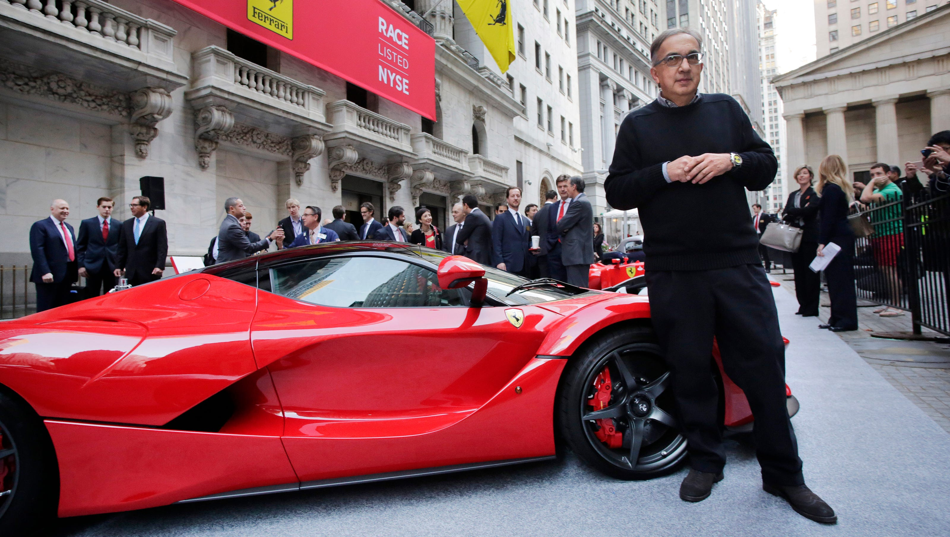 Ferrari Becomes Separate Company Next Week