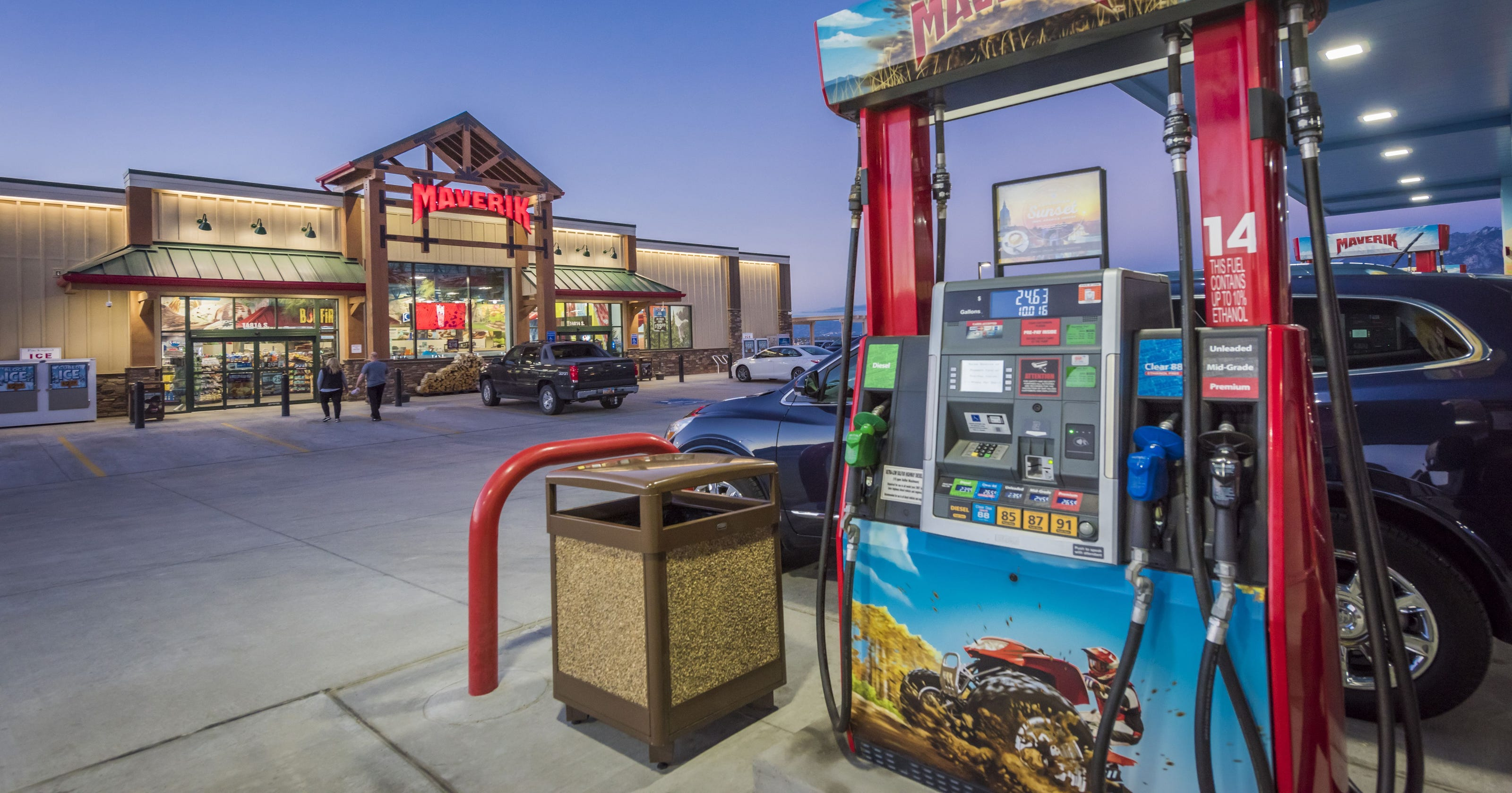the cleanest gas station bathrooms in every state. Black Bedroom Furniture Sets. Home Design Ideas