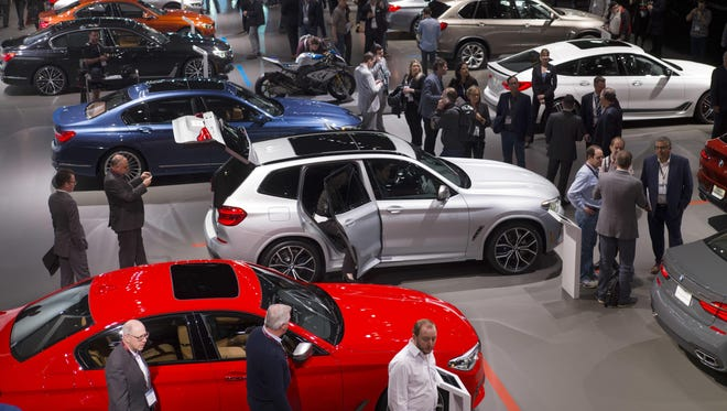 BMW's strong presence at the New York Auto Show follows announcements that it will skip Detroit's 2019 show.
