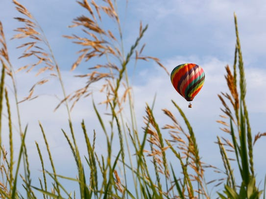 Hot-air balloons take center stage during Ashland's