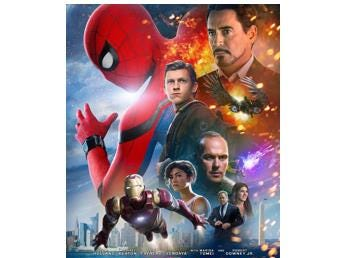 Insiders get 2 movie passes for just $6.95 to see the popular Spiderman: Homecoming.