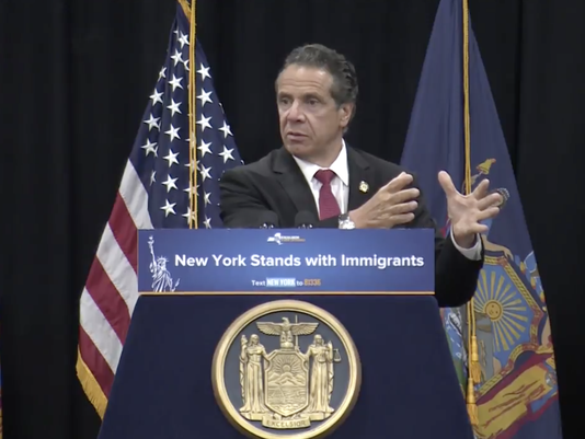 Cuomo discusses immigration