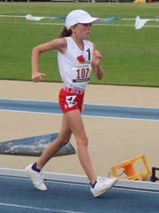Emily Kania will compete in the 1,500-meter racewalk at the USAT Junior Olympics National Championships.