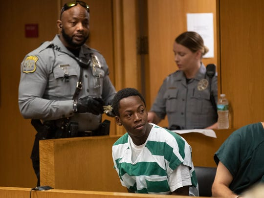 Kendrick Coley, charged in the murder of Richard Pone