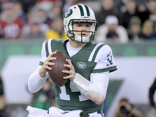 Sam Darnold experienced a couple of growing pains in his rookie season. (Kirby Lee-USA TODAY Sports)