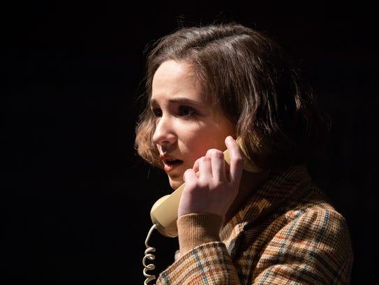 Christine Skorupa stars as Lina in the Binghamton University
