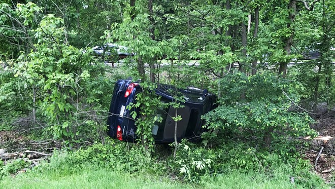 Accident on the Garden State Parkway north before the Westwood exit. The accident occurred Wednesday, May 24, 2017, at about 8:30 a.m.