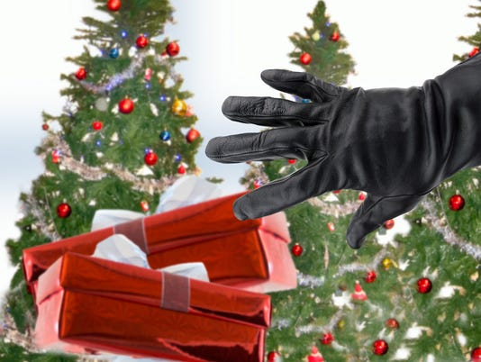 stealing xmas gifts