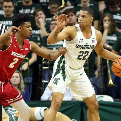 Miles Bridges scored 24 points in MSU's first meeting