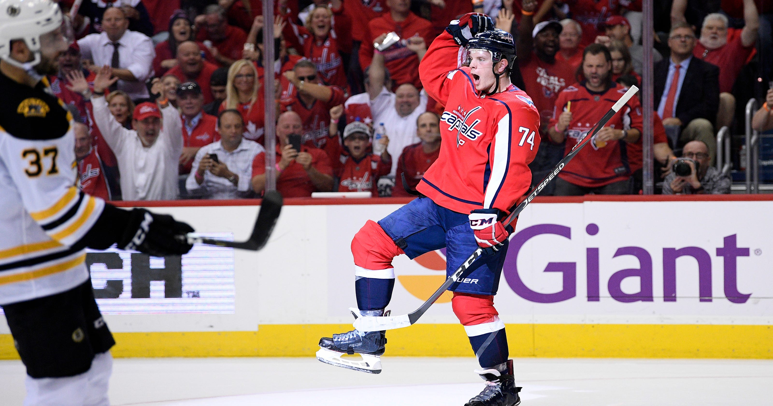 Capitals open Stanley Cup defense with 7-0 rout of Bruins 8b6796b6a9f