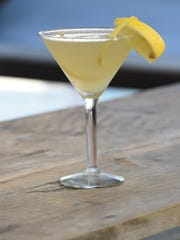 The Ginger Martini, one of the cocktails available