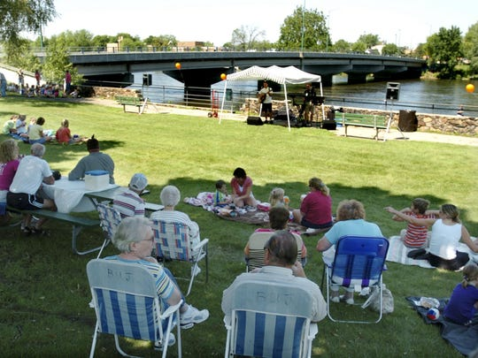 Lunch by The River is June 11-Aug. 27.