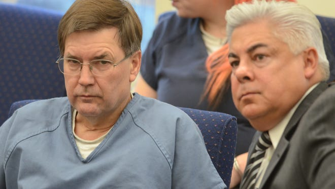 Craig Blodgett sits in Washoe District Court in September 2014.
