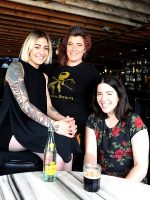 """(L-R): """"The Girls of joebar"""" are beverage director"""