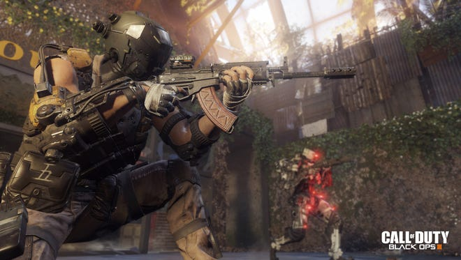 A screen shot from the video game 'Call of Duty: Black Ops 3.'