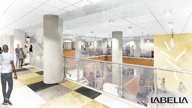 MCC downtown campus. rendering by Lebella.