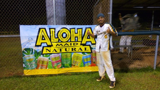 The Talofofo Rangers' Andrew Taijeron struck out 14 in win over the Chalan Pago Amigos on Dec. 18.