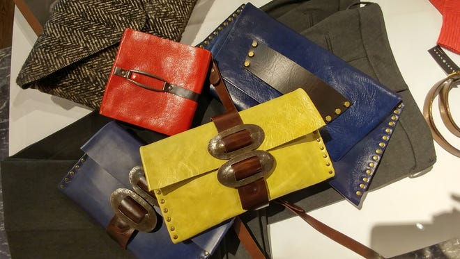Rebel Designs clutches at THEO in Red Bank.