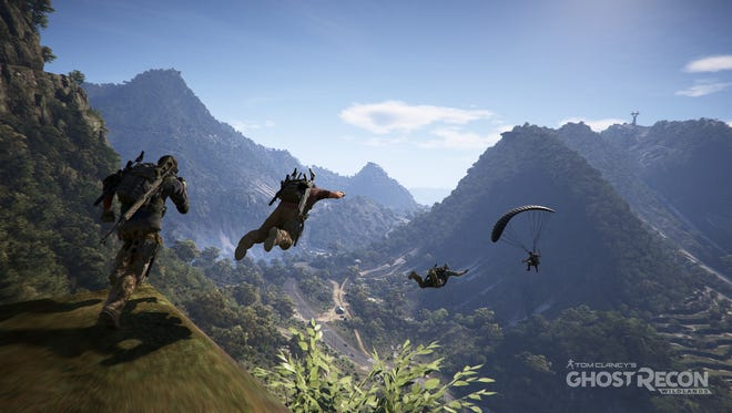 """The open world of """"Ghost Recon Wildlands"""" allows players to roam and go wherever they want."""