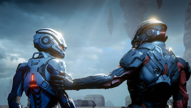 A scene from 'Mass Effect: Andromeda.'
