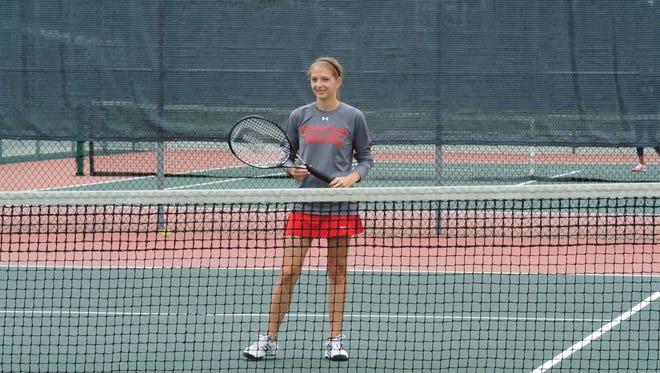Saginaw Valley State University junior Danielle Slonac.