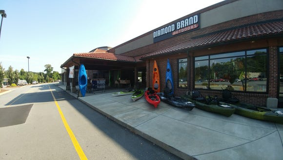 Diamond Brand Outdoors stores in Asheville are donating