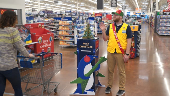 Walmart plans to use holiday helpers wearing reindeer hats on Thanksgiving and Black Friday
