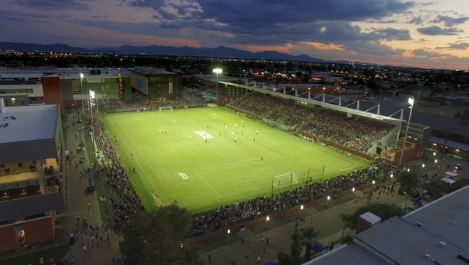 The GCU soccer stadium will host two post-season high school football games.