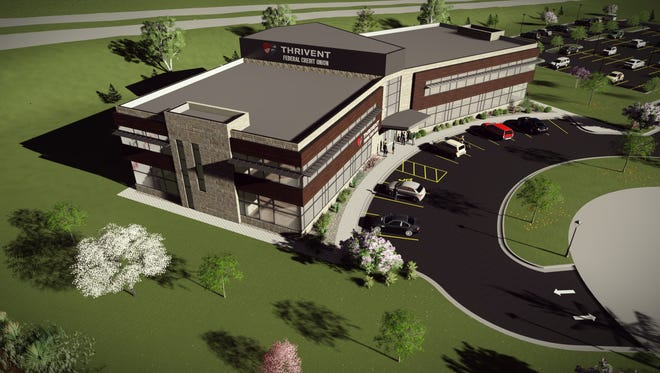 Thrivent Federal Credit Union headquarters will be built on the Thrivent property on Appleton's north side.