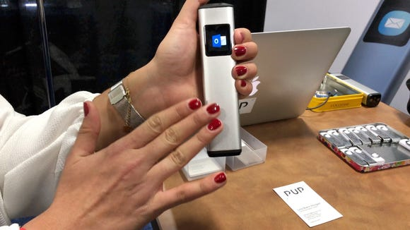 The Pup photo scanner is a tiny, handheld scanner selling