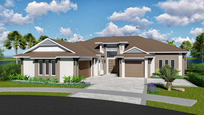 KTS Homes' Laguna floor plan is base priced at $1,389,670, including a standard home site.