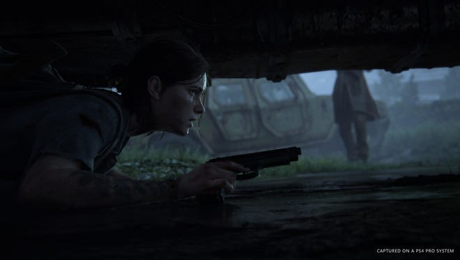 A scene from 'The Last of Us Part II.'