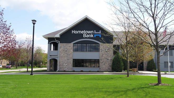 Hometown Bank,  80 Sheboygan St.