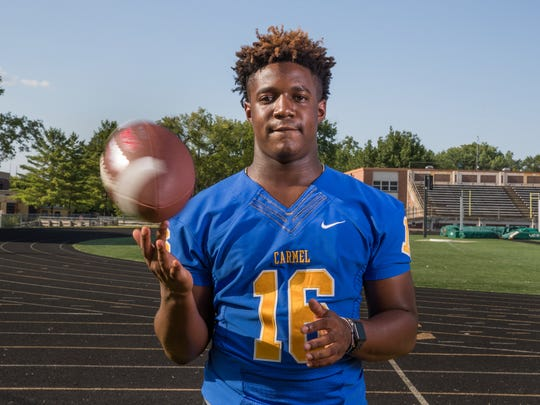 Camari Hunt, Carmel High School, part of the IndyStar