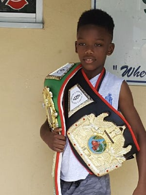 Alex Bray, 11, won the state and regional championships in the 85-poundweight class and will be competing for the national title in Charleston, West Virginia from June 24-30.