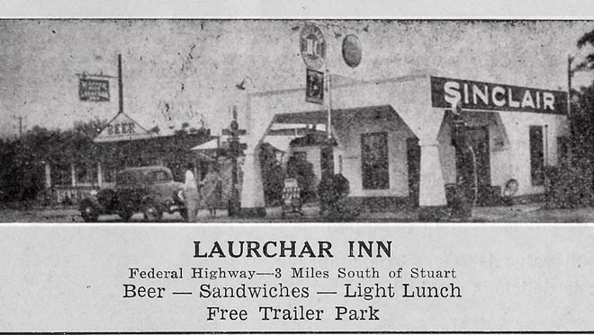 Laurchar Inn advertisement 1938 in local fishing guide.