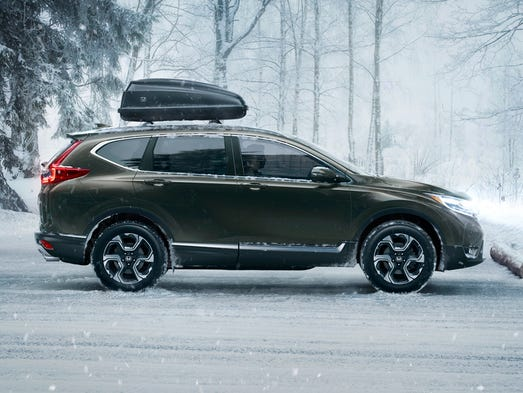 2017 Honda CR-V is all new, a compact SUV -- and a sporty one Honda