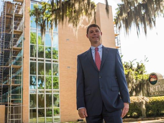 Parker Templeton, CEO of Iberia Medical Center, in New Iberia, LA, Monday, March 30, 2015.