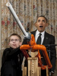 Young inventor who wowed Obama faces health crisis