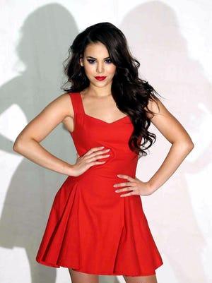 Danna Paola, actriz y cantante mexicana.