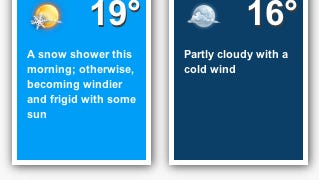 New Year's Eve will be a cold one this year