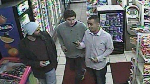 Portland police are looking to identify three men in connection with an assault on a Green Bay Packers fan in Oregon last week.