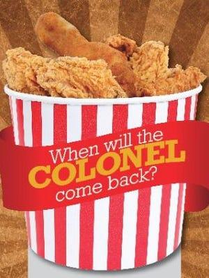 When will the Colonel come back?