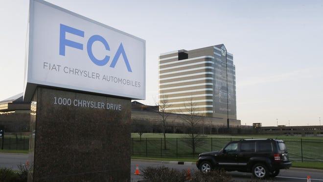 Fiat Chrysler headquarters in Auburn Hills.